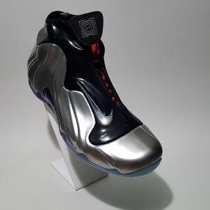 Nike Flightposite one China hoops silver black
